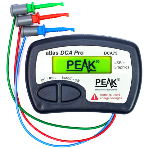 Atlas DCA Pro - Advanced Semiconductor Analyser with Curve Tracing