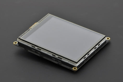 "A product image of DFRobot 2.8"" USB TFT Touch Display Screen for Raspberry Pi"