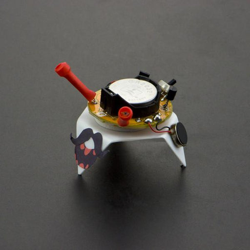 A product image of 4-Soldering Light Chaser Beam Robot Kit