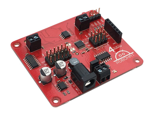 A product image of RoboHAT - Complete Robotics Controller for Raspberry Pi