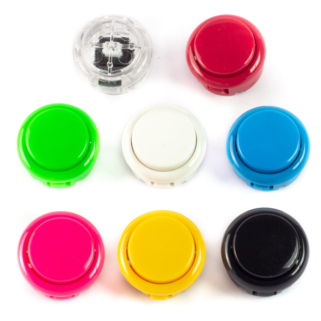 Colourful Arcade Buttons