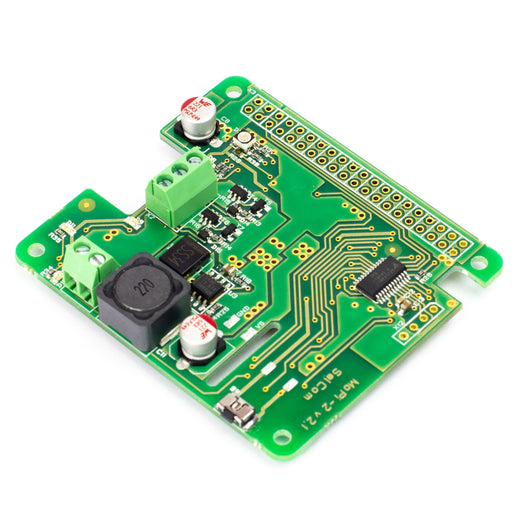 A product image of MoPi 2: Hot-Swap Mobile Power for the Pi