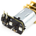 A product image of Micro Metal Gearmotor with Push Header Shim