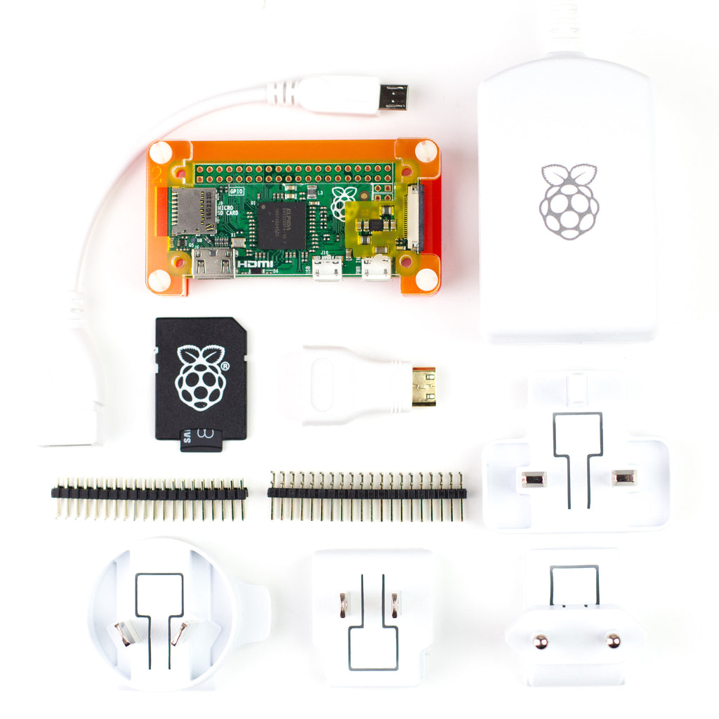 A product image of Pi Zero Complete Starter Kit
