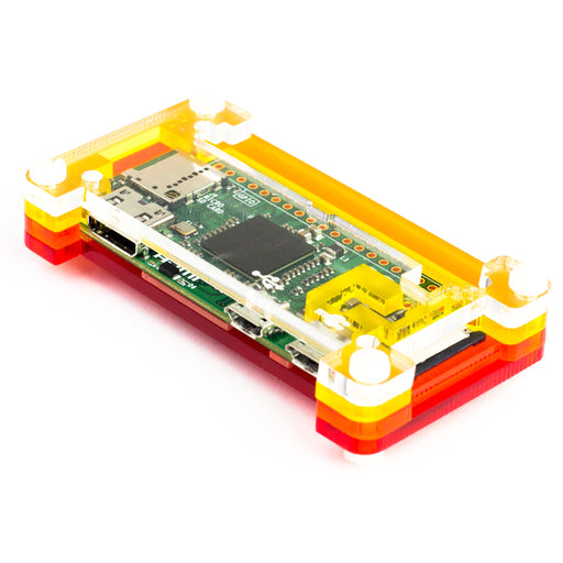 A product image of Pibow Zero Gehäuse für Raspberry Pi Zero version 1.3