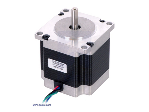 A product image of Pololu Schrittmotor: Bipolar, 200 Steps/Rev, 57x56mm, 2,5V, 2,8 A/Phase