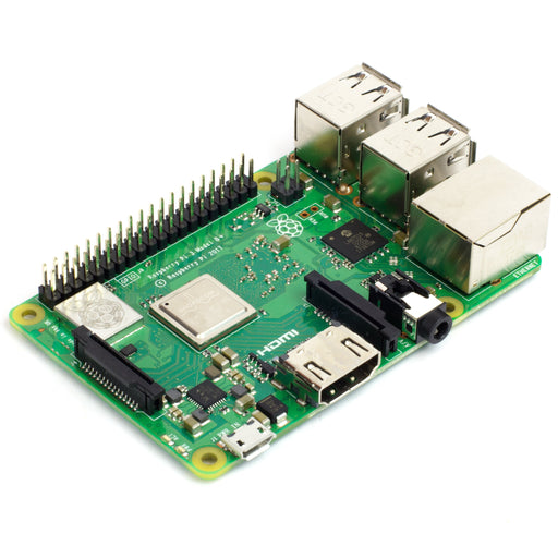 A product image of Raspberry Pi 3 B+