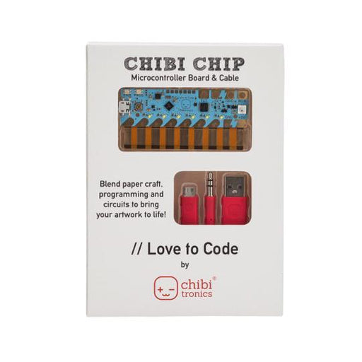 A product image of Chibitronics Love to Code: Chibi Chip & Cable