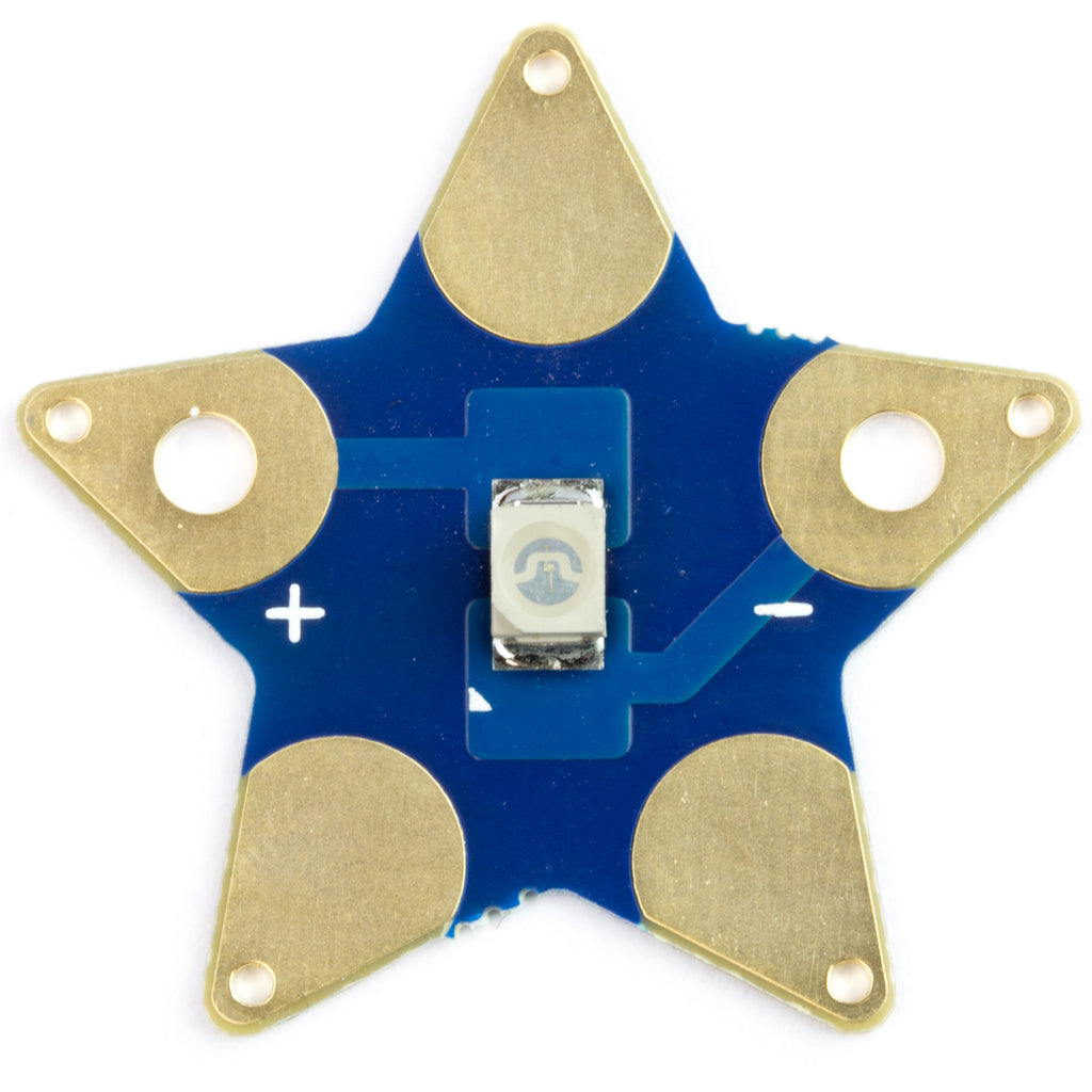 A product image of Sewable Star LEDs