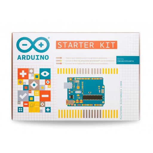 A product image of Arduino Starter Kit