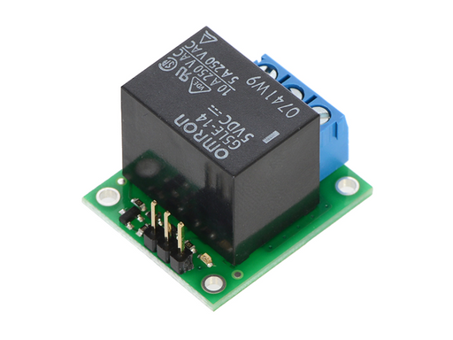 A product image of Pololu Basic SPDT Relay Carrier with 5VDC Relay (Assembled)