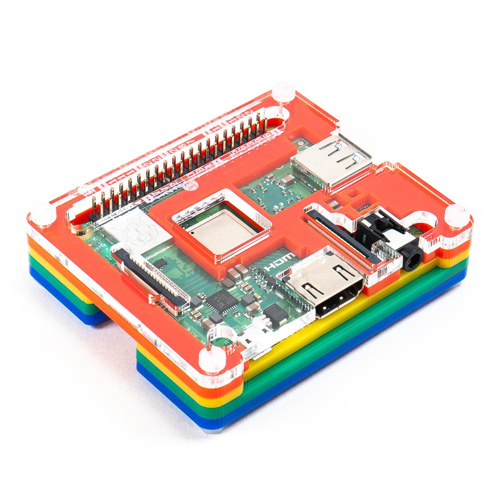 A product image of Pibow 3 A+ Coupé (for Raspberry Pi 3 A+)