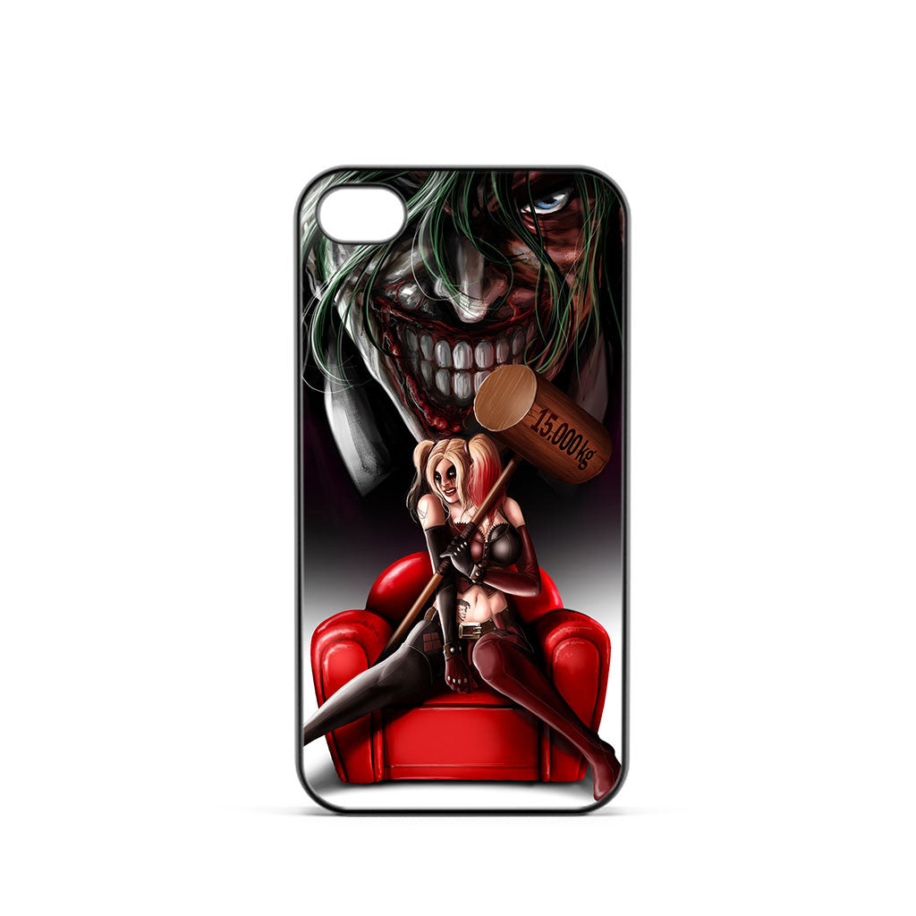 Harley Quinn and Joker Madness iPhone 4 / 4s Case