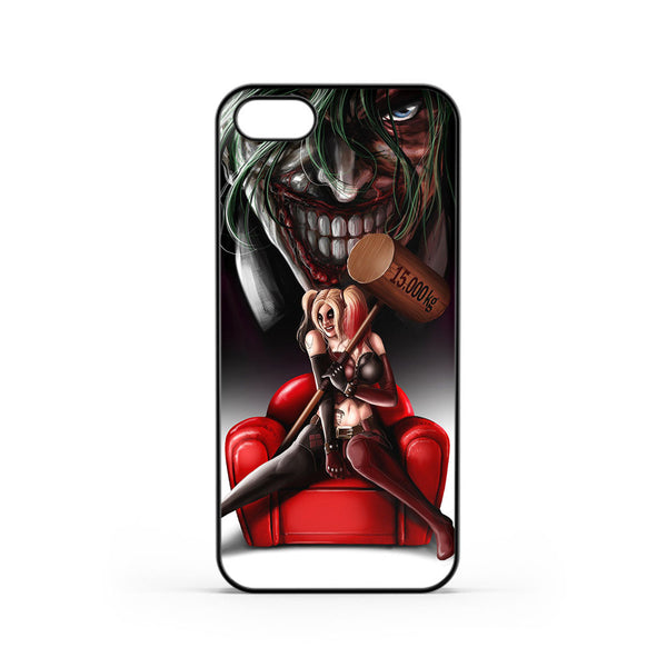 Harley Quinn and Joker Madness iPhone 5 / 5s Case