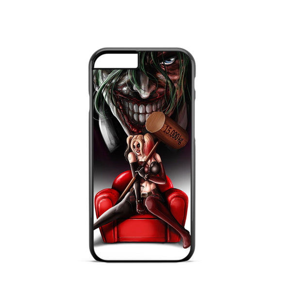 Harley Quinn and Joker Madness iPhone 6 Case