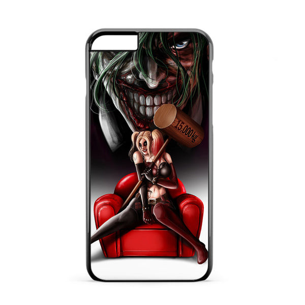 Harley Quinn and Joker Madness iPhone 6 Plus Case