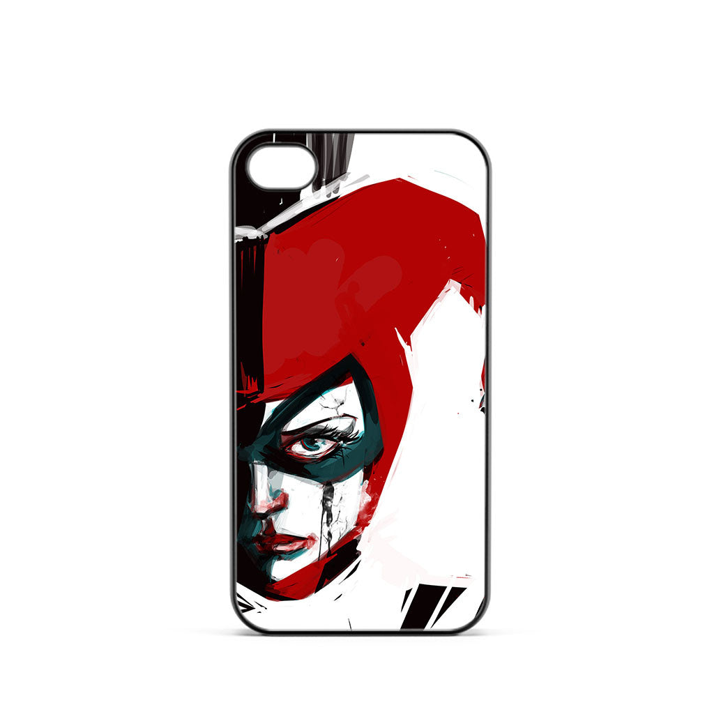 Harley Quinn Watercolor iPhone 4 / 4s Case