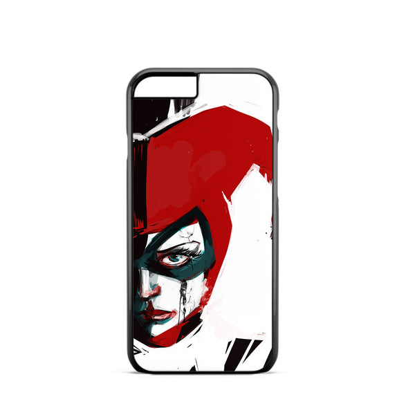Harley Quinn Watercolor iPhone 6 Case