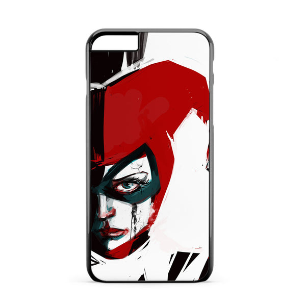 Harley Quinn Watercolor iPhone 6 Plus Case