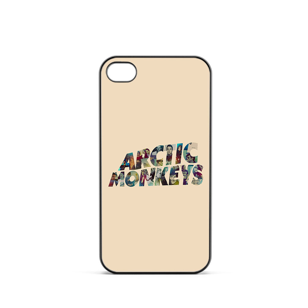 Arctic Monkeys Colorful Logo iPhone 4 / 4s Case