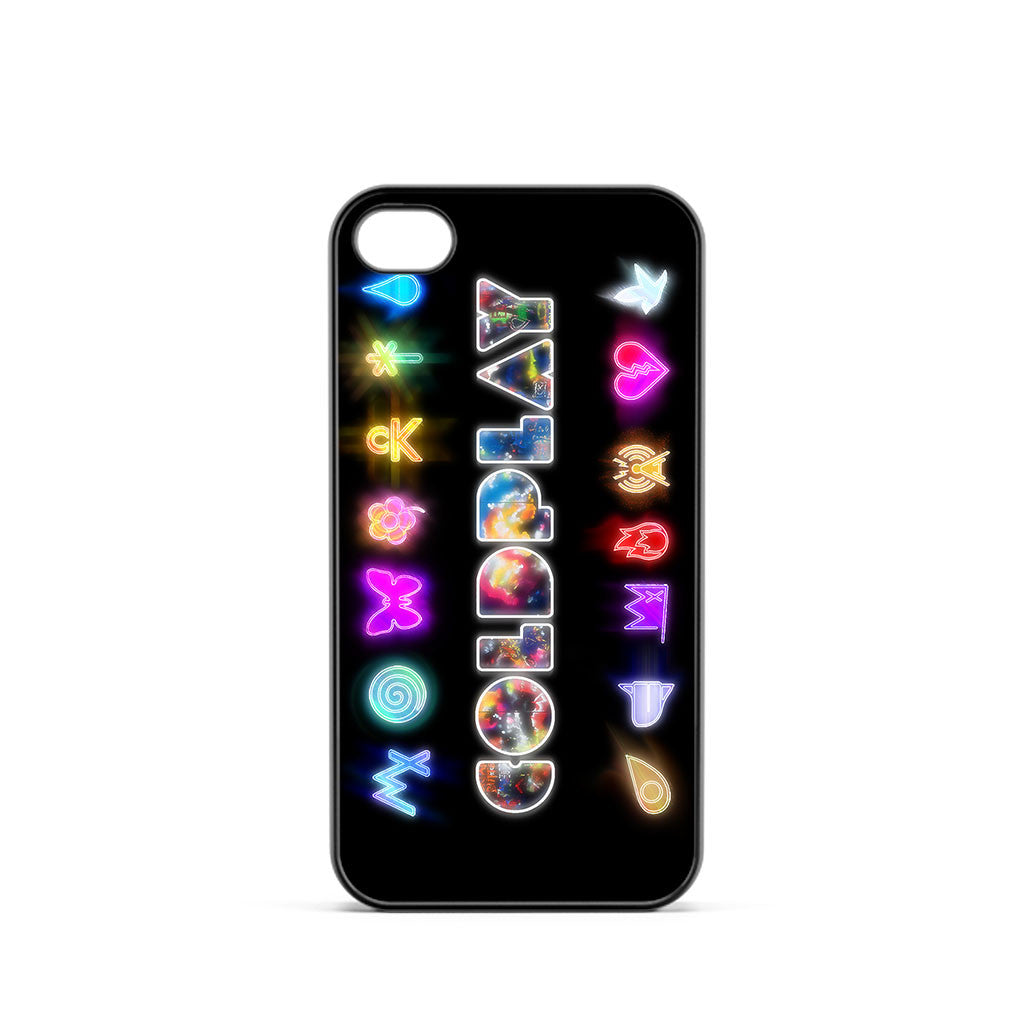 Coldplay Logo Symbol iPhone 4 / 4s Case