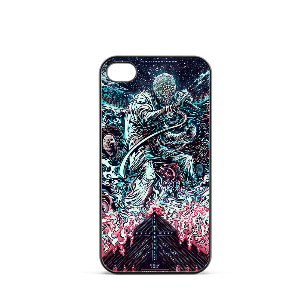 Kanye West Yeezus Poster iPhone 4 / 4s Case