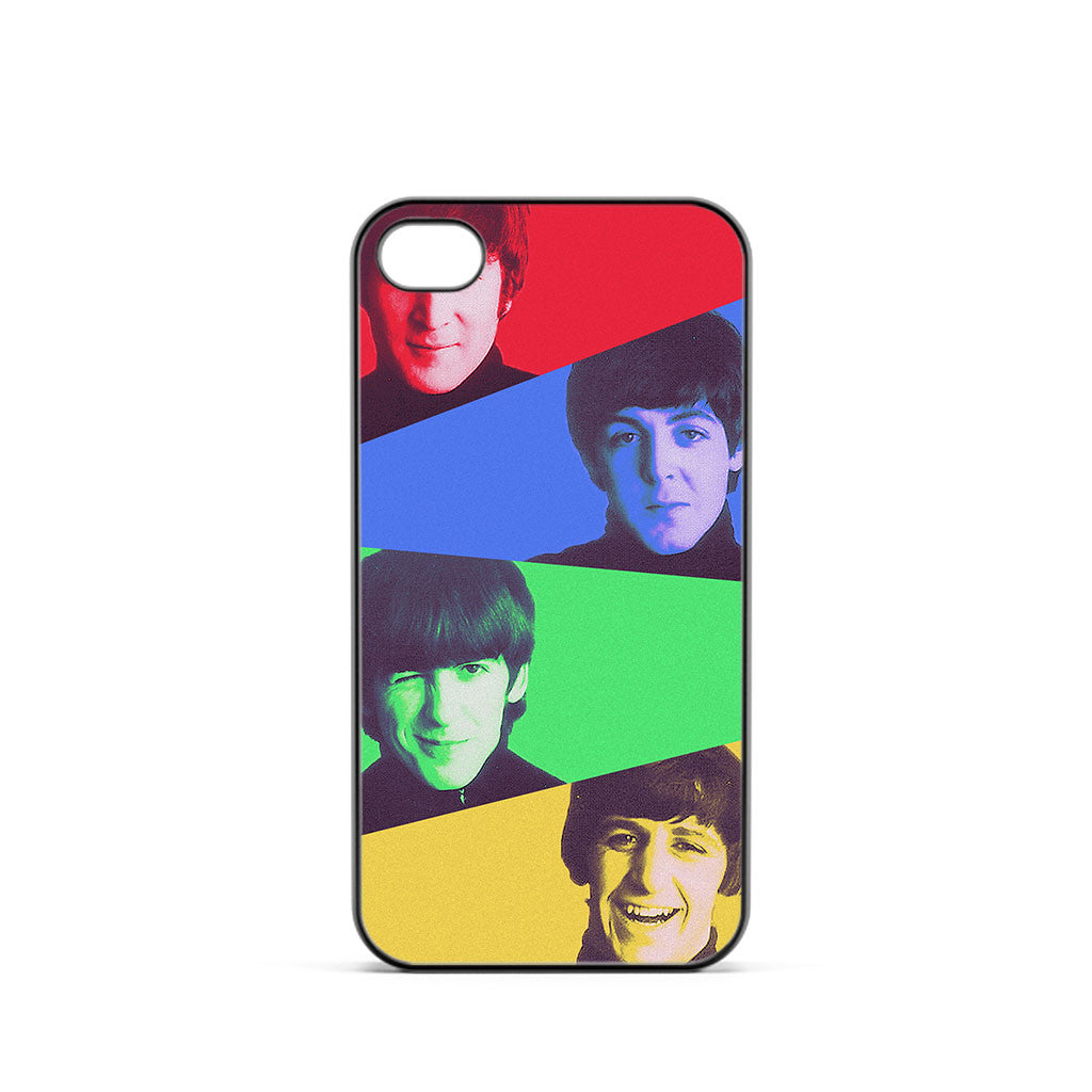 The Beatles Colorful iPhone 4 / 4s Case