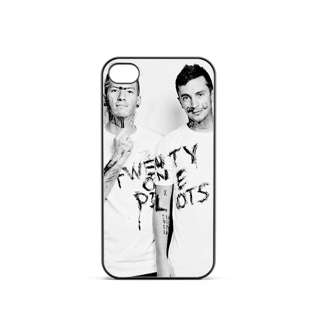 Twenty One Pilots White iPhone 4 / 4s Case