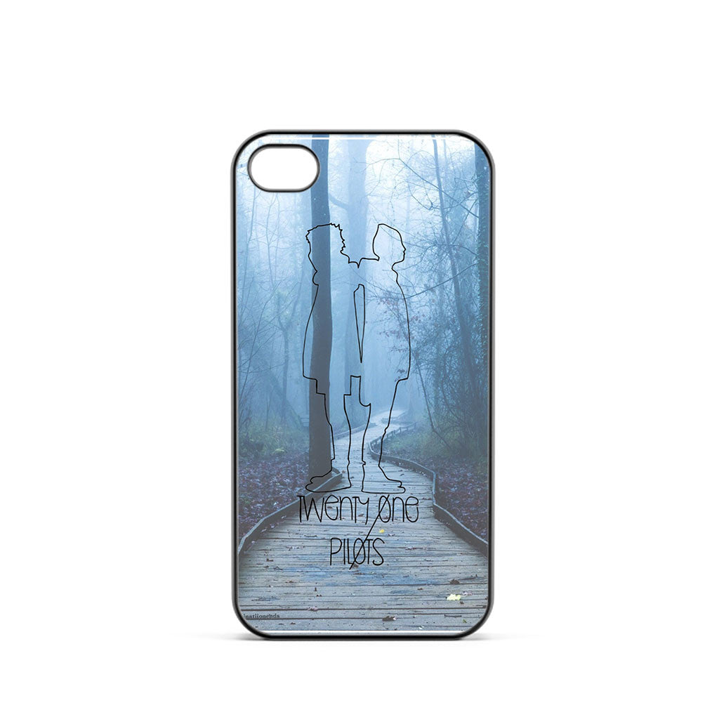 Twenty One Pilots Wood Art iPhone 4 / 4s Case