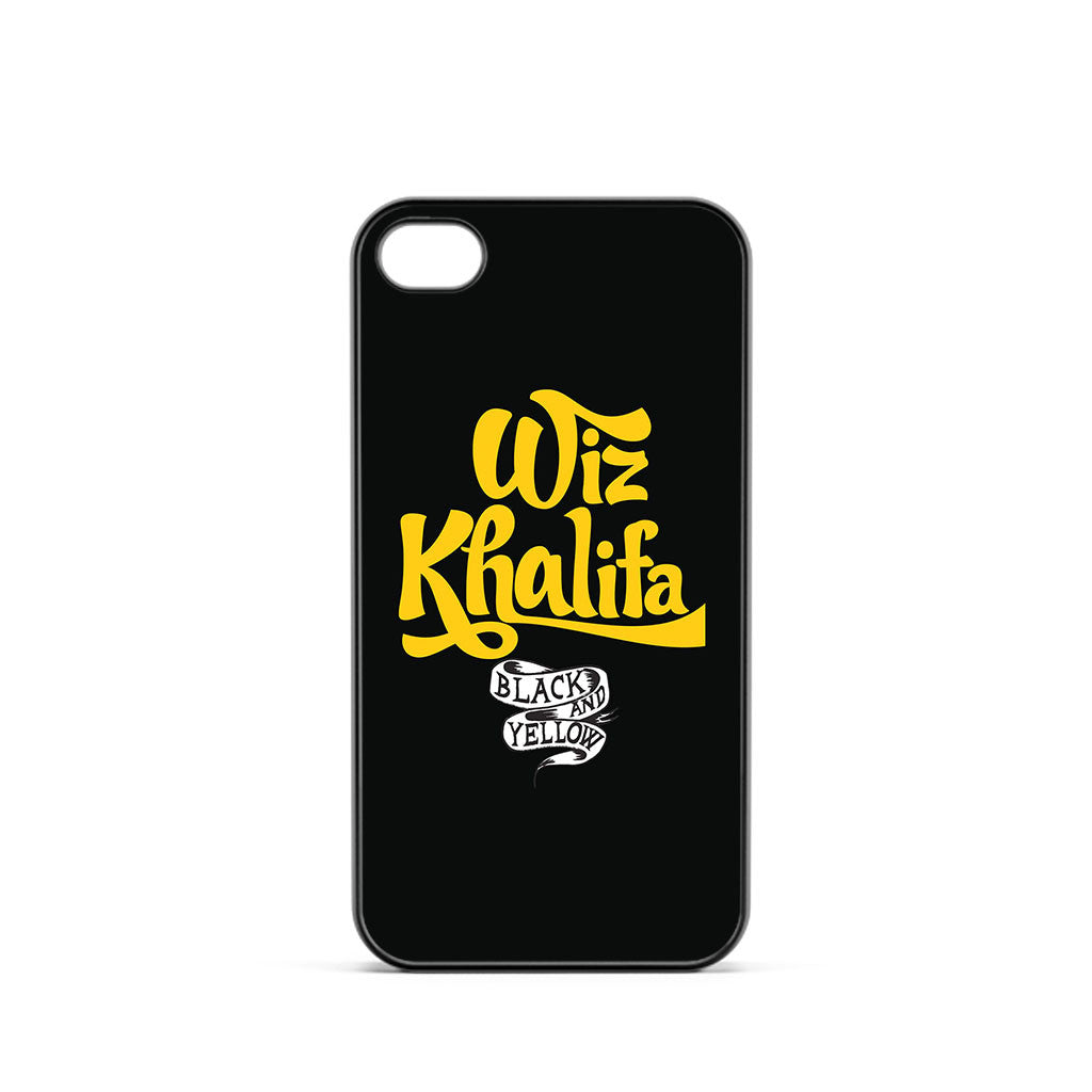 Wiz Khalifa Black And Yellow iPhone 4 / 4s Case
