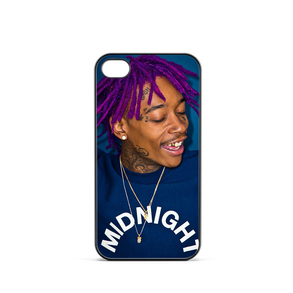 Wiz Khalifa Purple Hair iPhone 4 / 4s Case