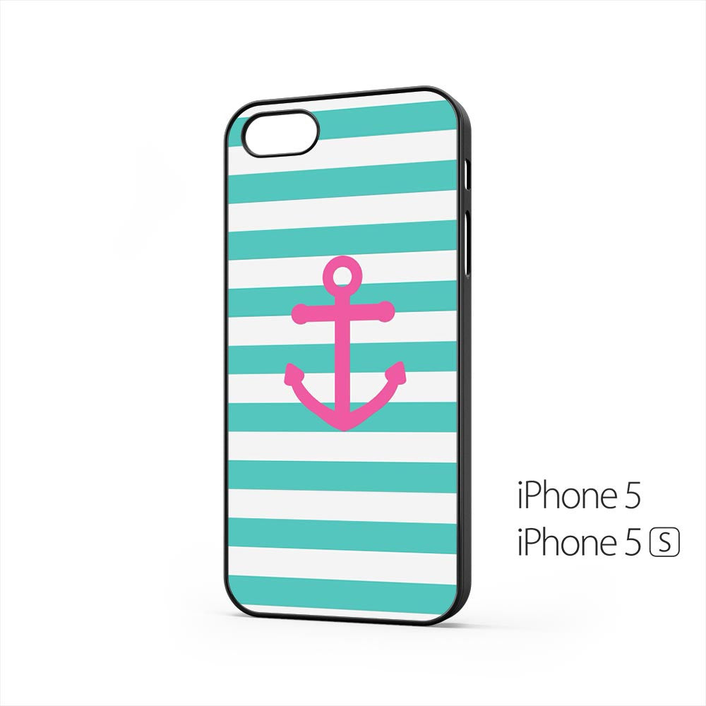 Anchor Blue Stripes iPhone 5 / 5s Case