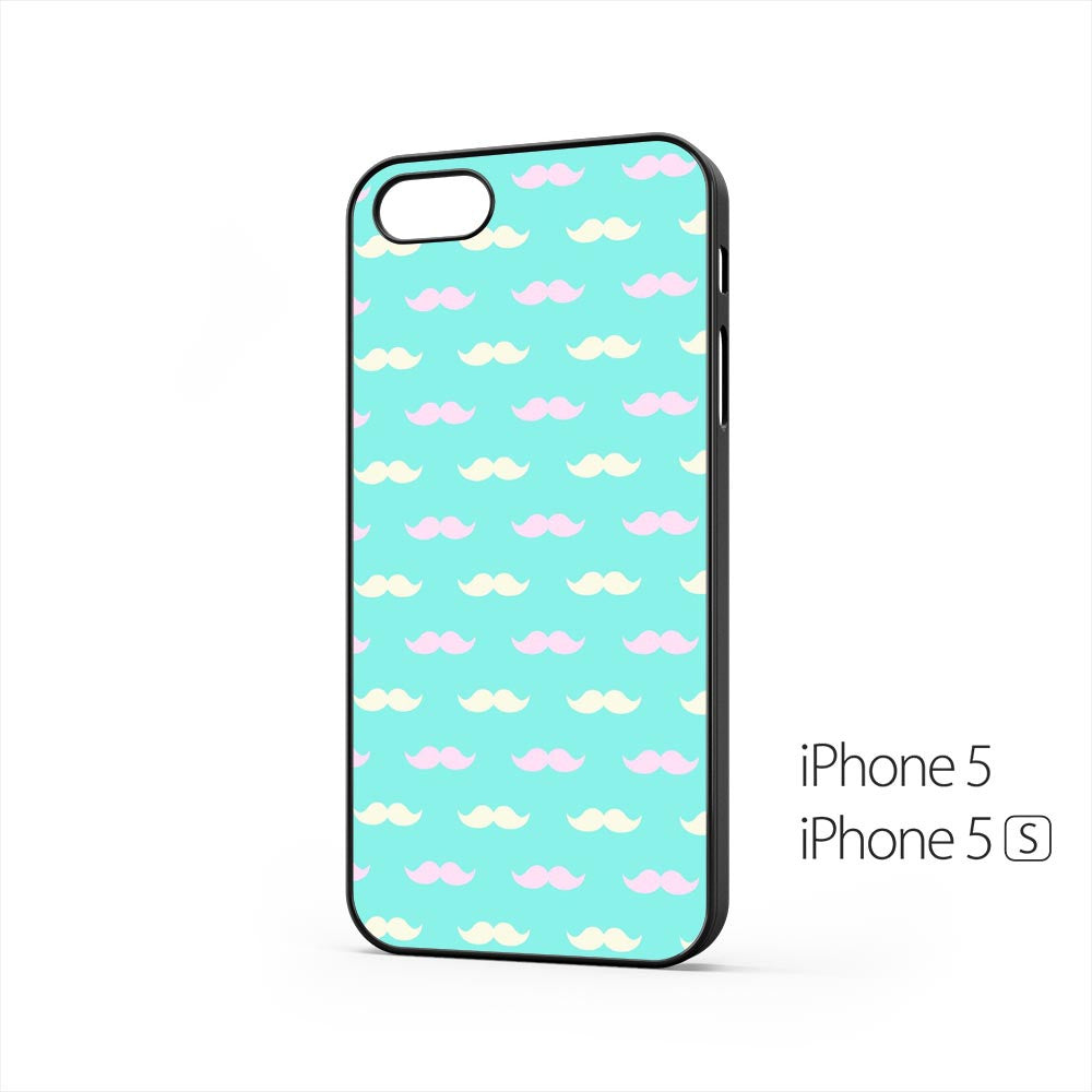 Pink White Mustache iPhone 5 / 5s Case