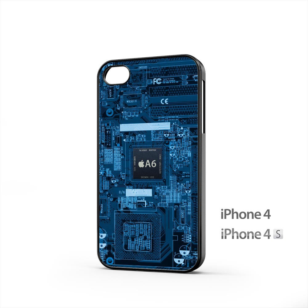 A6 Chip Internal iPhone 4 / 4s Case