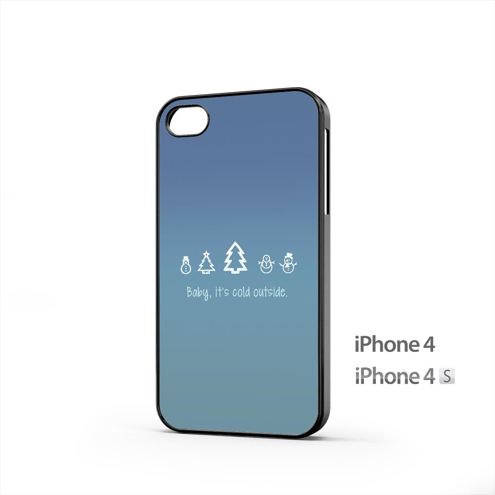 Baby Its Cold Outside iPhone 4 / 4s Case
