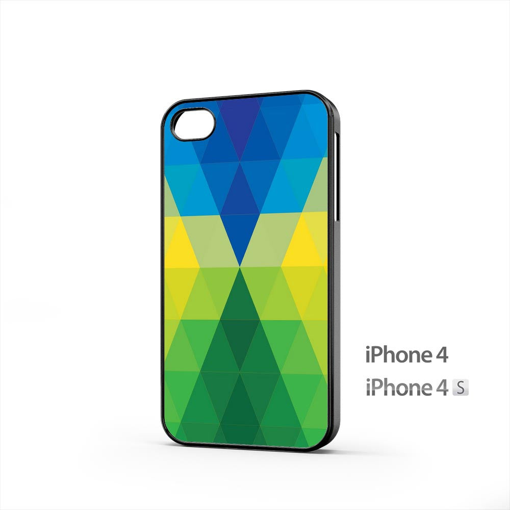 Colorful Rhombus iPhone 4 / 4s Case