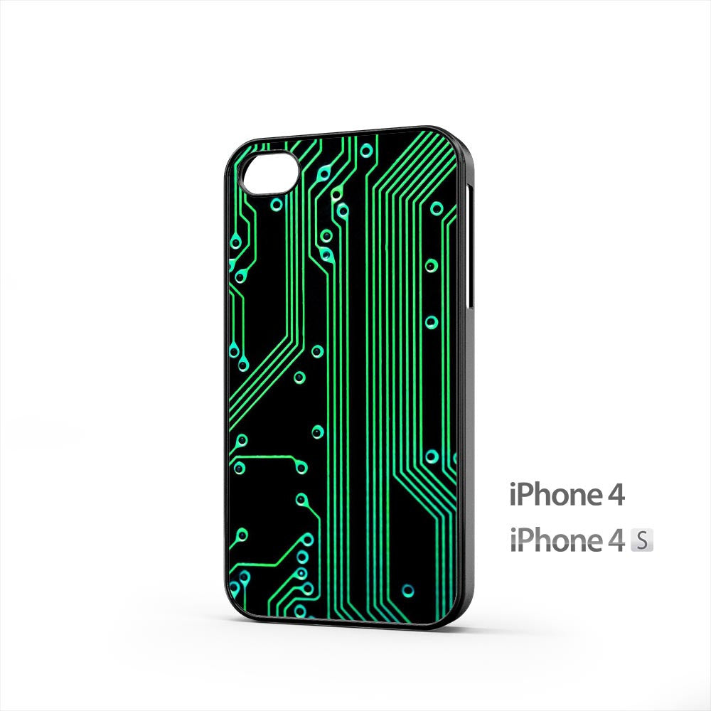 Electronic Circuit iPhone 4 / 4s Case