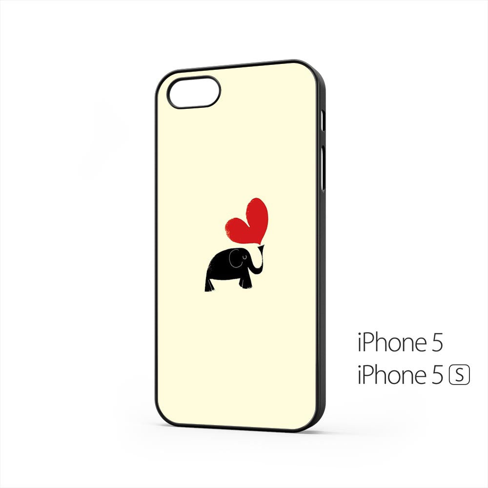 Elephant Red Love iPhone 5 / 5s Case