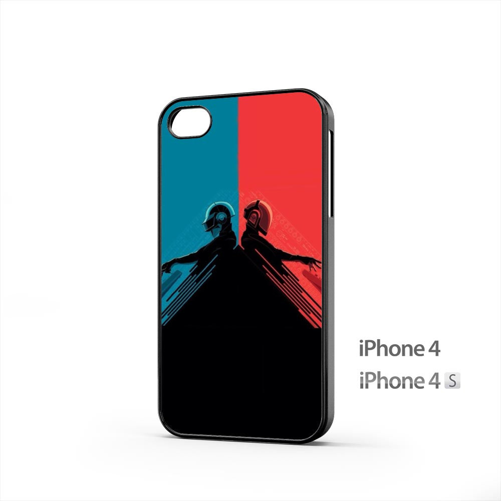Daft Punk Red And Blue iPhone 4 / 4s Case