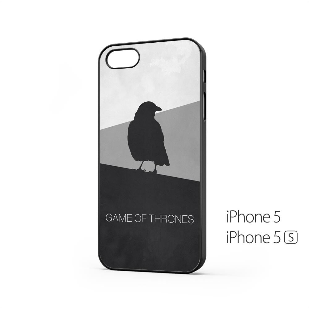 Game Of Thrones Minimal Raven iPhone 5 / 5s Case