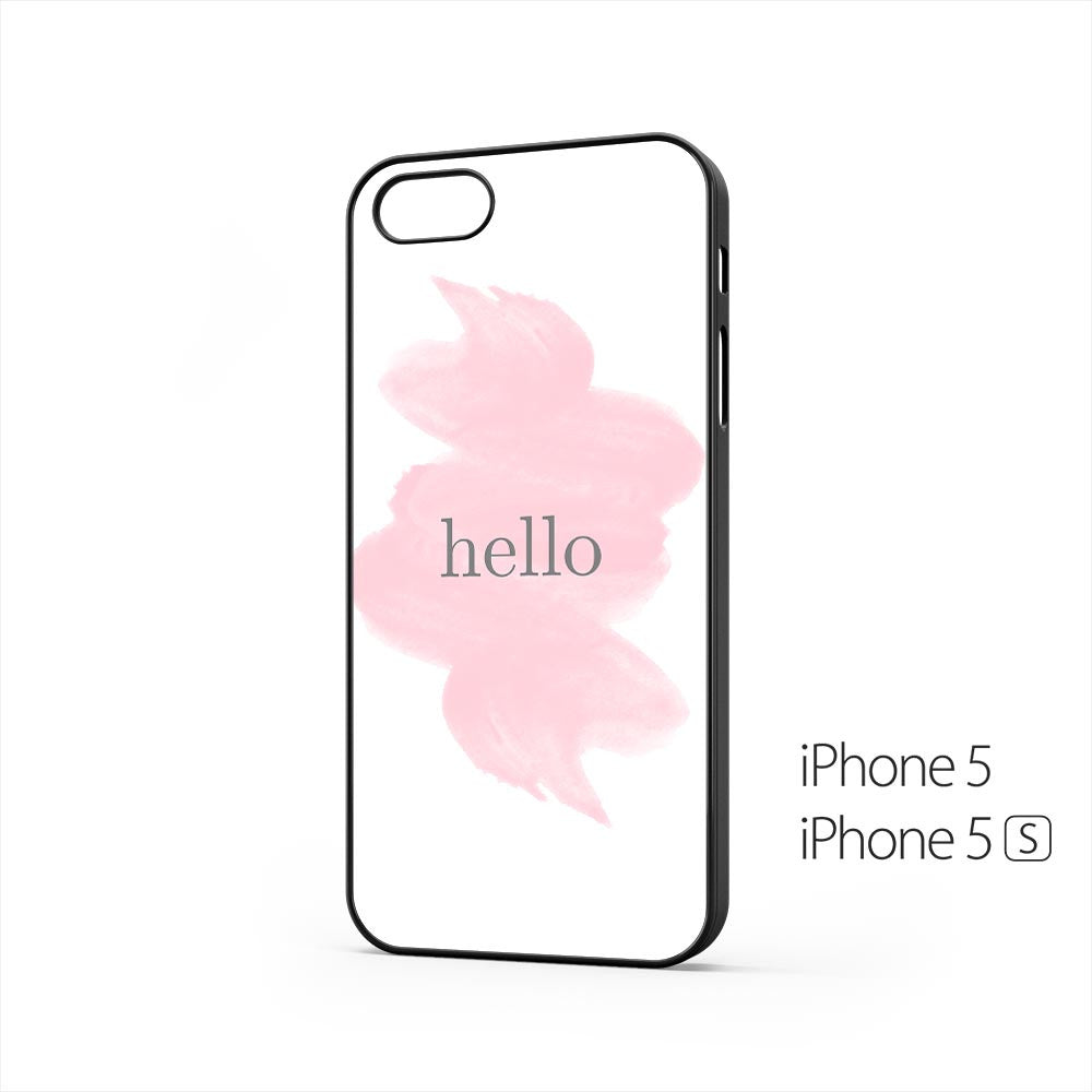 Hello Watercolor iPhone 5 / 5s Case