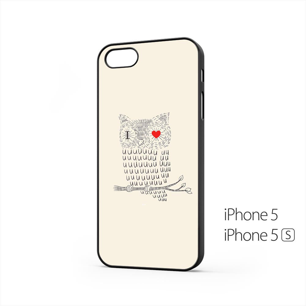 I Love You Owl iPhone 5 / 5s Case