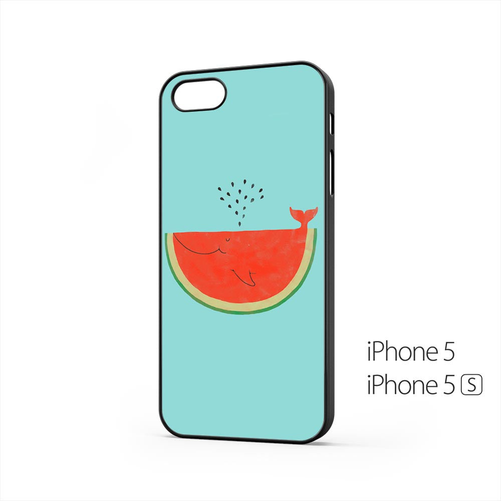 Watermelon Whale iPhone 5 / 5s Case