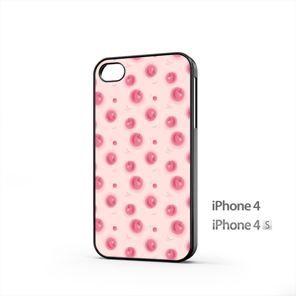 Red Apples Texture iPhone 4 / 4s Case