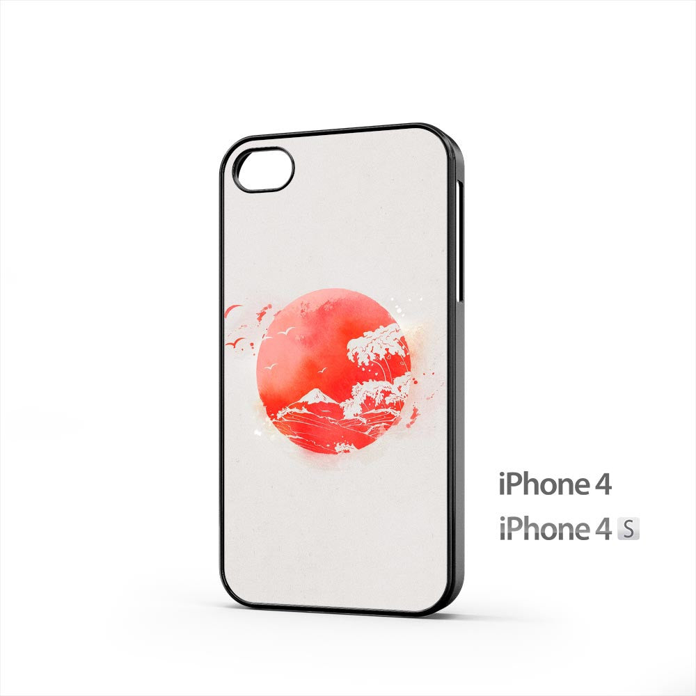 Nipon Eastern Sun Waves iPhone 4 / 4s Case