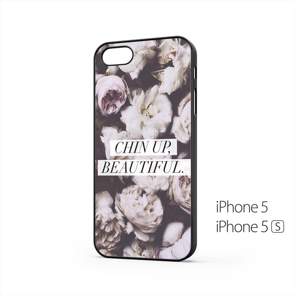 Chin Up Beautiful Roses iPhone 5 / 5s Case