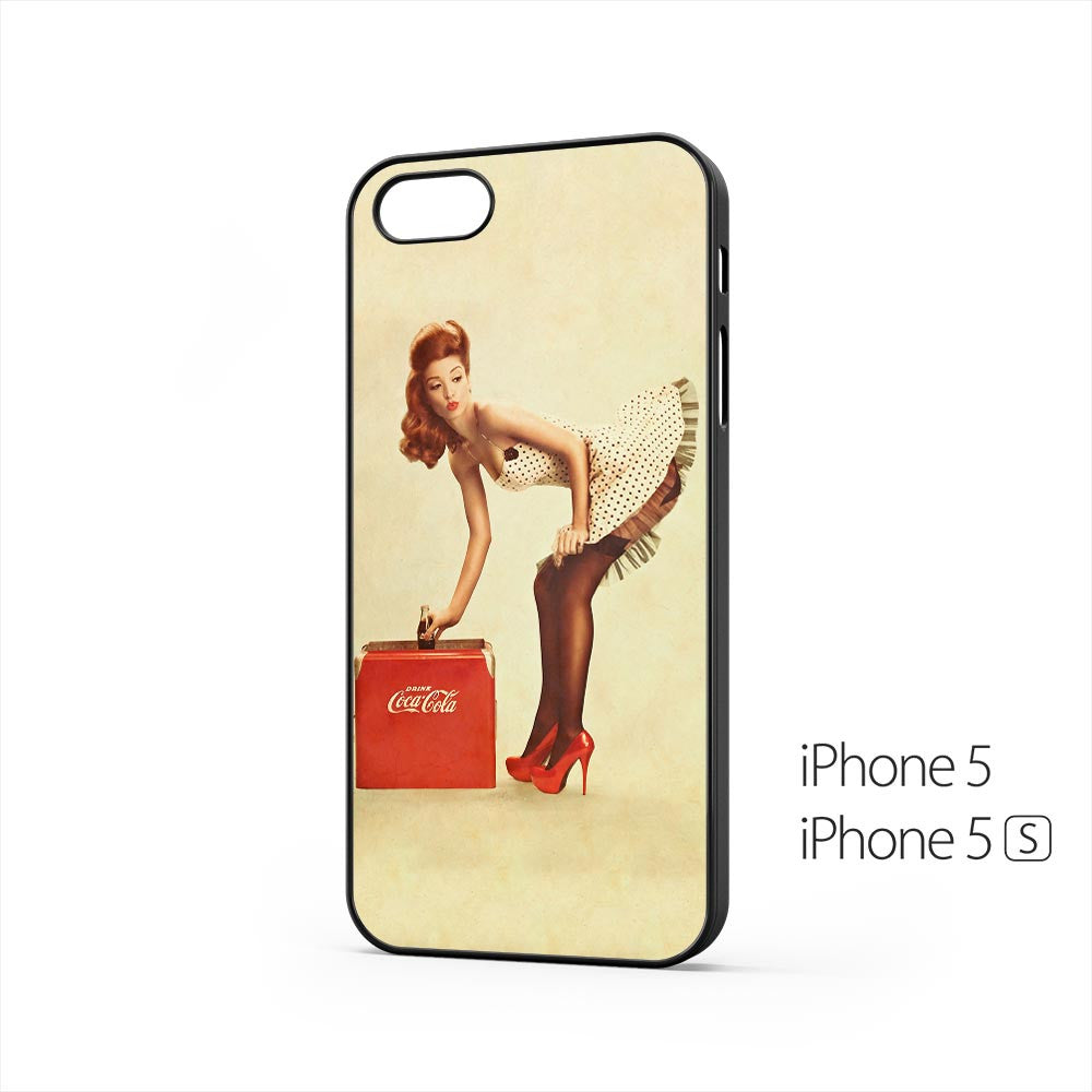Coca Cola Pin Up Girl iPhone 5 / 5s Case