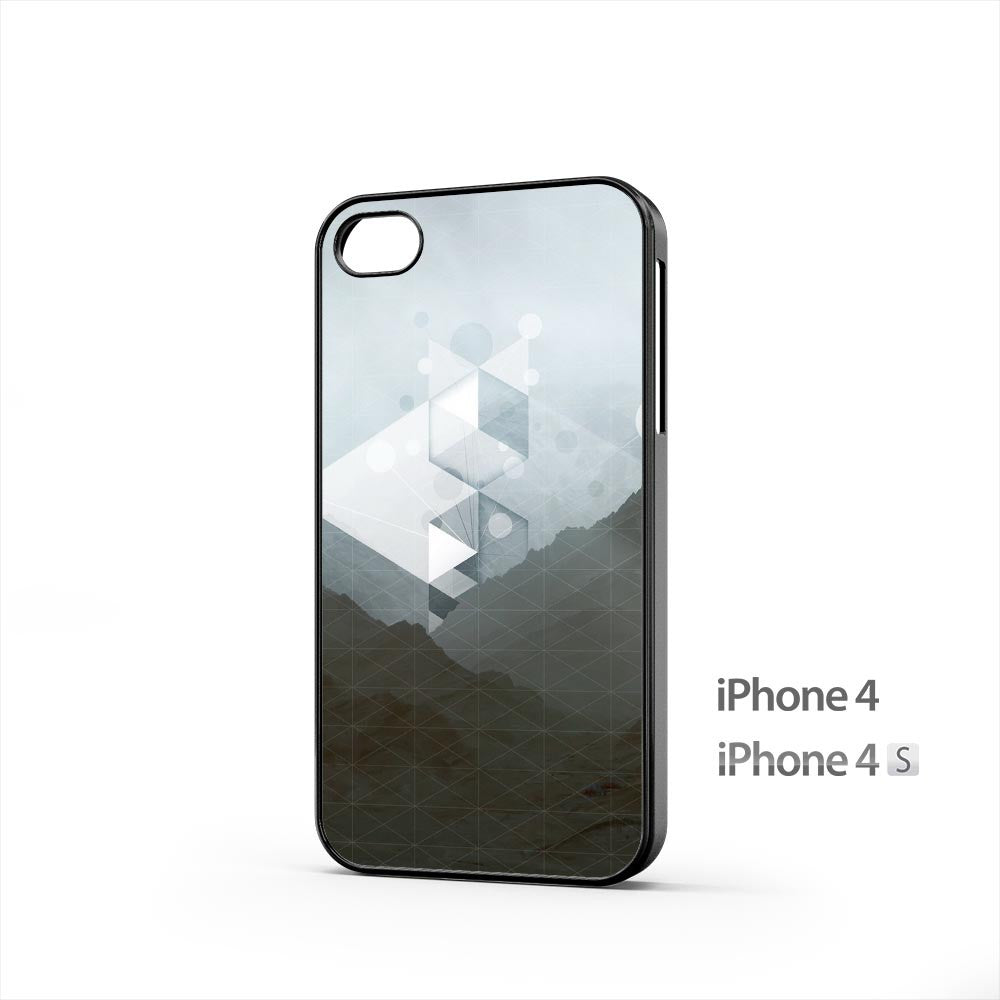 Grid Mountain iPhone 4 / 4s Case