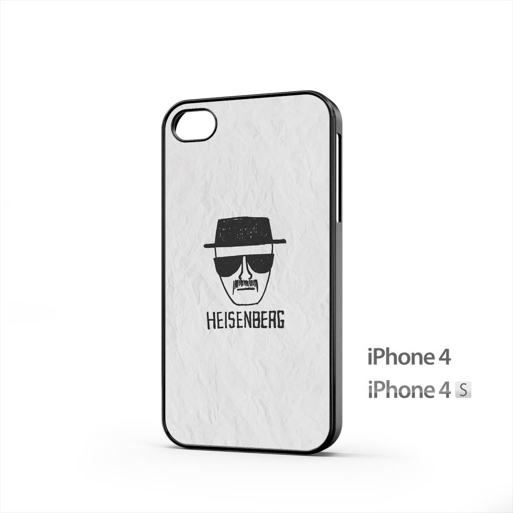 Heisenberg on Paper iPhone 4 / 4s Case