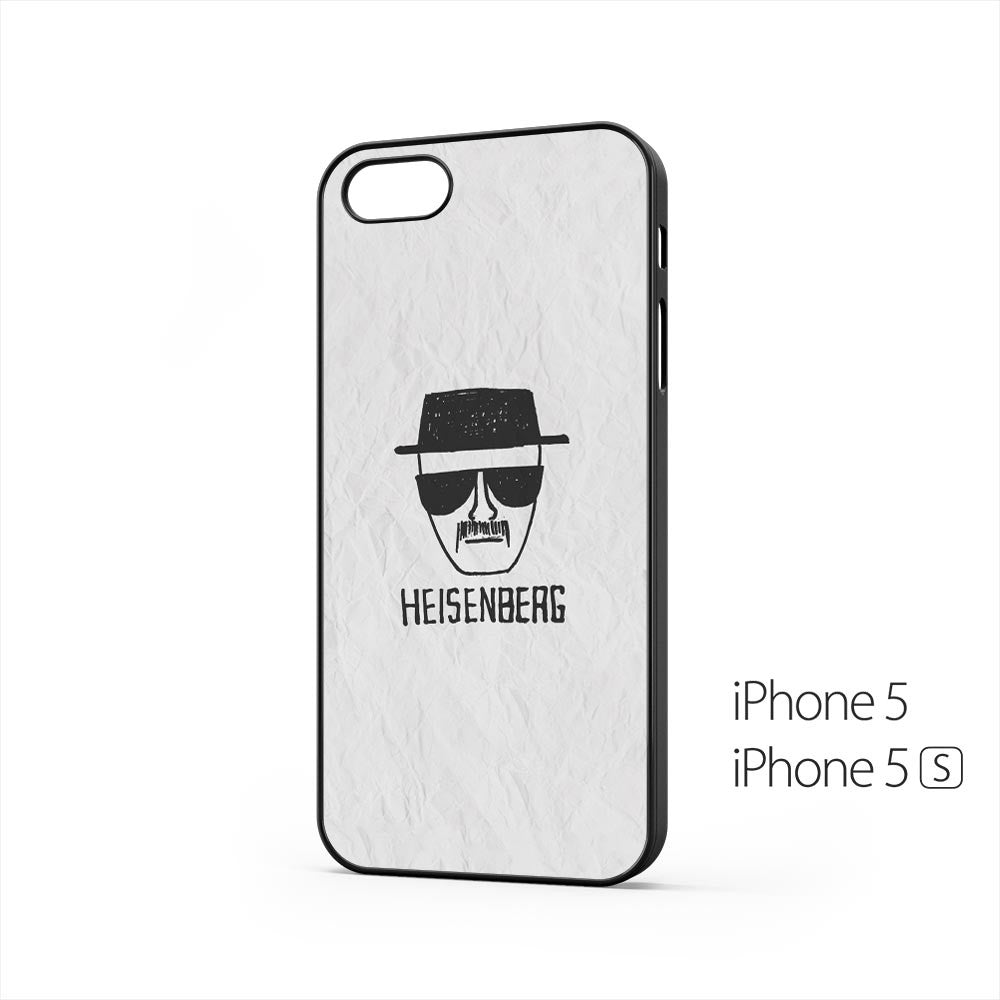 Heisenberg on Paper iPhone 5 / 5s Case